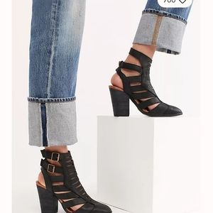 Free People Hayes Leather Booties
